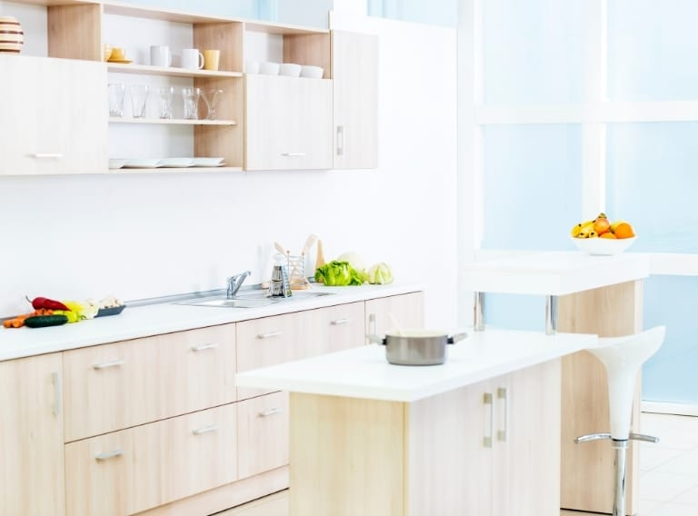 how to clean sticky wood kitchen cabinets the easy way